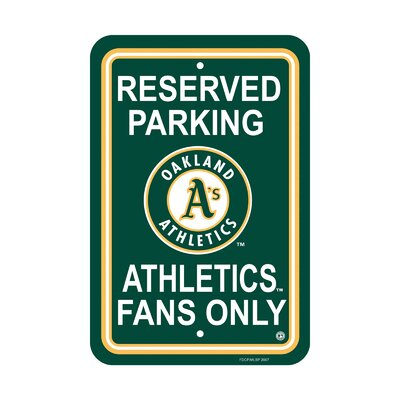 MLB Parking Sign MLB: Oakland Athletics