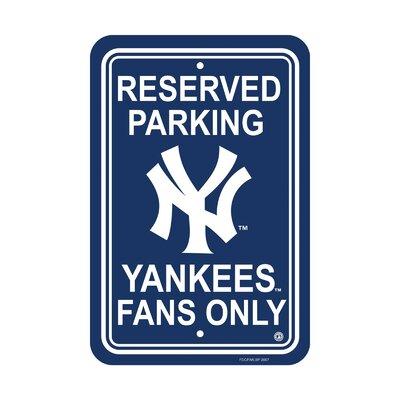 MLB Parking Sign MLB: New York Yankees K60210=