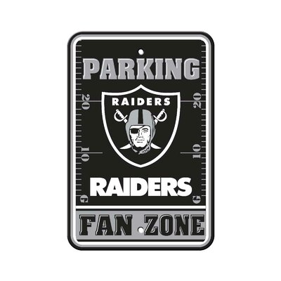 NFL Parking Sign NFL: Oakland Raiders