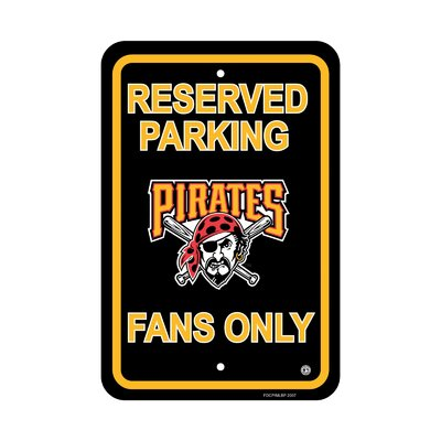 MLB Parking Sign MLB: Pittsburgh Pirates
