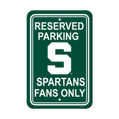 NCAA Parking Sign NCAA: Michigan State Spartan