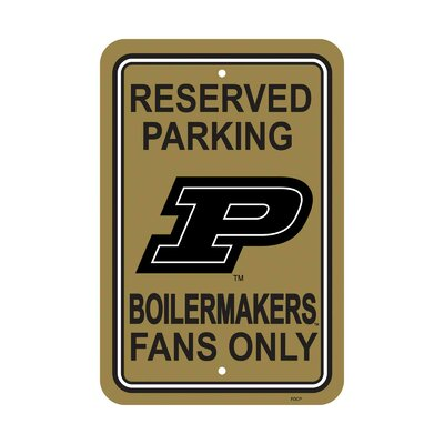 NCAA Parking Sign NCAA: Purdue Boilermakers