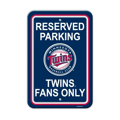MLB Parking Sign MLB: Minnesota Twins K60209=