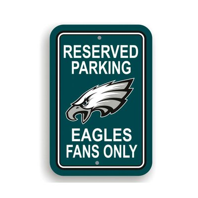 NFL Parking Sign NFL: Philadelphia Eagles K90217=