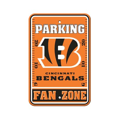 NFL Parking Sign NFL: Cincinnati Bengals