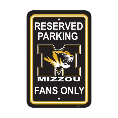 NCAA Parking Sign NCAA: Missouri Tigers