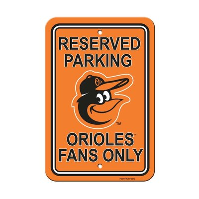 MLB Parking Sign MLB: Baltimore Orioles