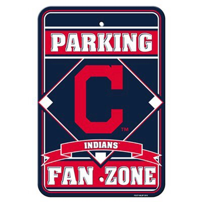 MLB Parking Sign MLB: Cleveland Indians