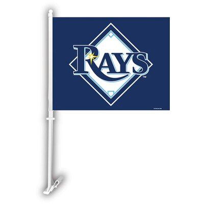 MLB Car Flag MLB: Tampa Bay Rays K68930=