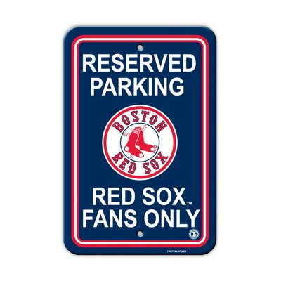 MLB Parking Sign MLB: Boston Red Sox K60202=