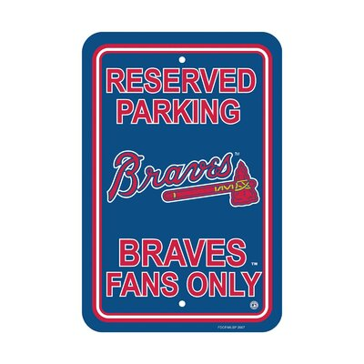 MLB Parking Sign MLB: Atlanta Braves