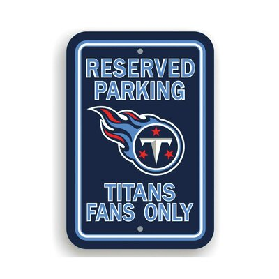 NFL Parking Sign NFL: Tennessee Titans