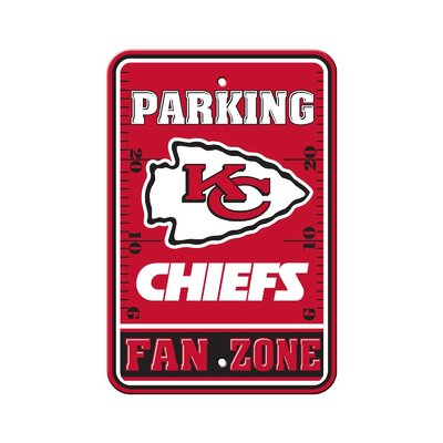 NFL Parking Sign NFL: Kansas City Chiefs