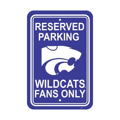 NCAA Parking Sign NCAA: Kansas State Wildcats