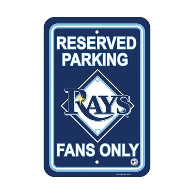 MLB Parking Sign MLB: Tampa Bay Rays