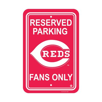 MLB Parking Sign MLB: Cincinnati Reds