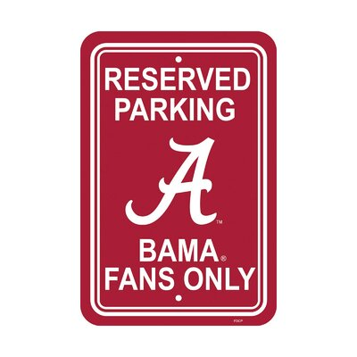 NCAA Parking Sign NCAA: Alabama