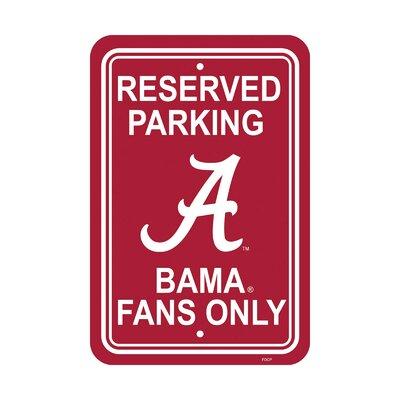 NCAA Parking Sign NCAA: Alabama