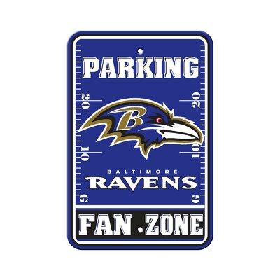 NFL Parking Sign NFL: Baltimore Ravens