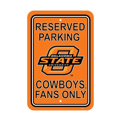 NCAA Parking Sign NCAA: Oklahoma State Cowboys