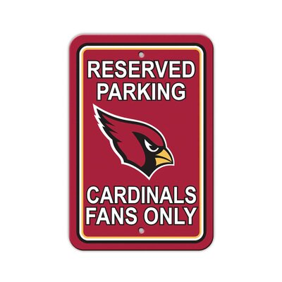 NFL Parking Sign NFL: Arizona Cardinals