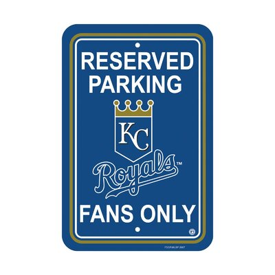 MLB Parking Sign MLB: Kansas City Royals