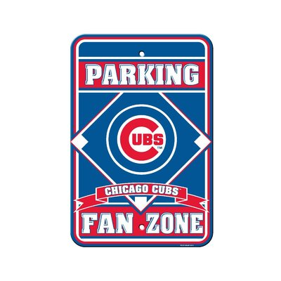 MLB Parking Sign MLB: Chicago Cubs