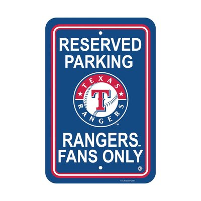 MLB Parking Sign MLB: Texas Rangers