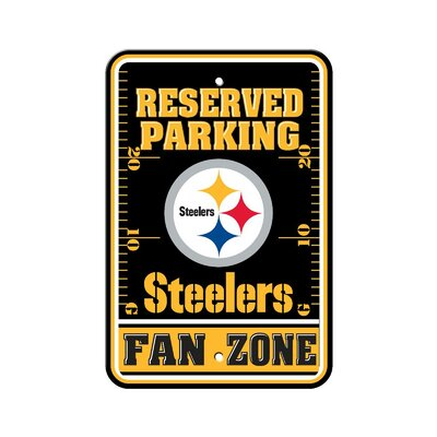 NFL Parking Sign NFL: Pittsburgh Steelers K92213=