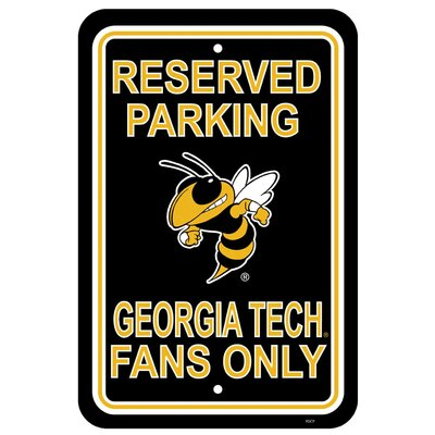 NCAA Parking Sign NCAA: Georgia Tech