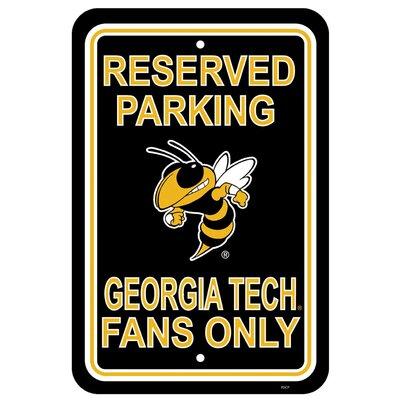 NCAA Parking Sign NCAA: Georgia Tech