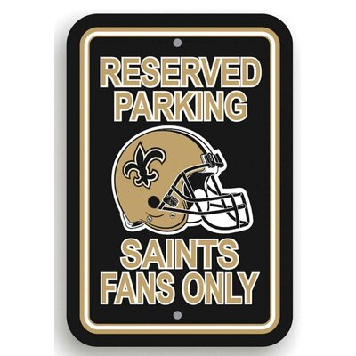 NFL Parking Sign NFL: New Orleans Saints