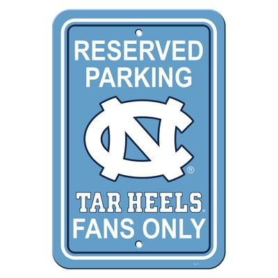 NCAA Parking Sign NCAA: North Carolina Tarheel