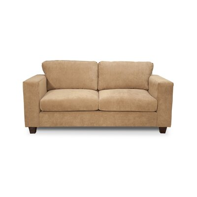 Henry Small Sofa Upholstery: Two Tone Pecan