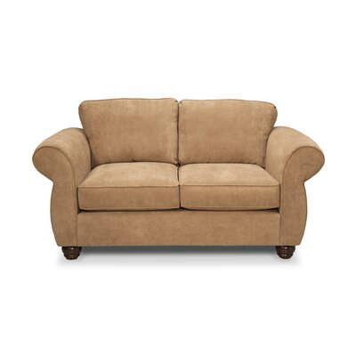 Gregson Classics Gregory Loveseat - Upholstery: Amigo Copper