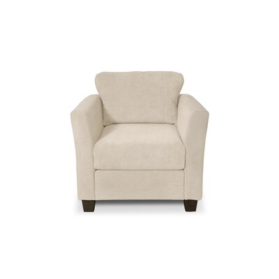 Edward Armchair Upholstery: Two Tone Bisque