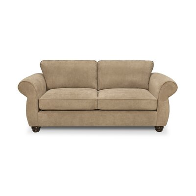 Gregory Small Sofa Upholstery: Two Tone Pecan