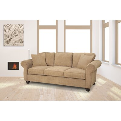 Gregory Sofa Upholstery: Two Tone Pecan