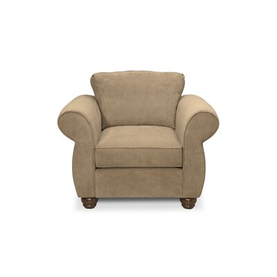 Gregory Armchair Upholstery: Two Tone Pecan
