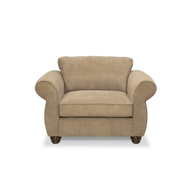Gregory Armchair and a Half Upholstery: Two Tone Pecan