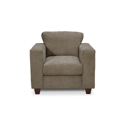 Henry Armchair Color: Two Tone Charcoal