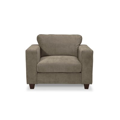 Henry Armchair and a Half Color: Two Tone Charcoal