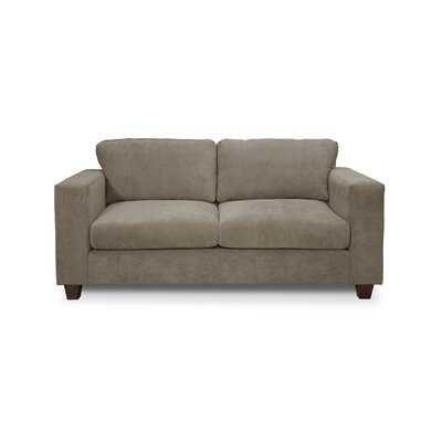 Henry Small Sofa Upholstery: Two Tone Charcoal