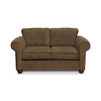 Sawyer Loveseat Upholstery: Amigo Copper