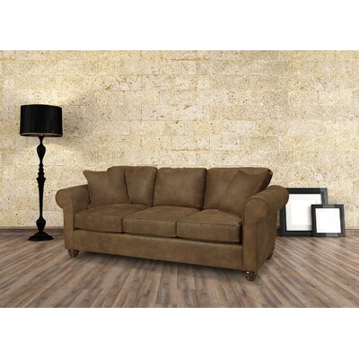 Sawyer Sofa Upholstery: Amigo Copper
