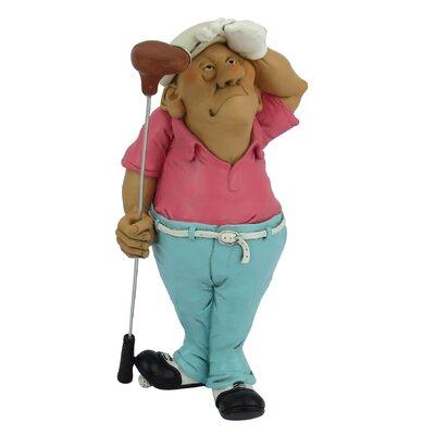 Occupations Golfer Figurine 67240-04