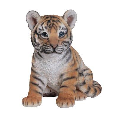Sitting Tiger Cub Figurine 87808-B