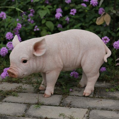 Standing Baby Pig Statue 87726-A