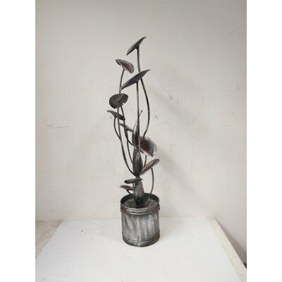 Zinc Metal Calla Lilies Fountain 79536