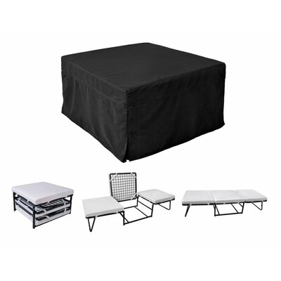 Glider Ottoman Color: Black